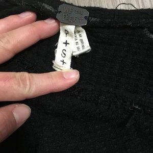 Free People Sweaters - Free People long sleeve sweater (black)
